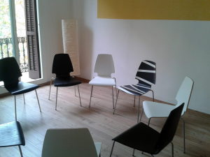 deutschsprachig Gruppentherapie Eixample Zentrum Barcelona Psychologe Psychologin Coach Coaching